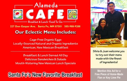 Alameda Cafe Ad for SFIM2014