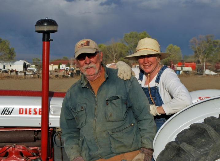 Bill and Diana LaMorris - Farmers at Blue Raven Farm