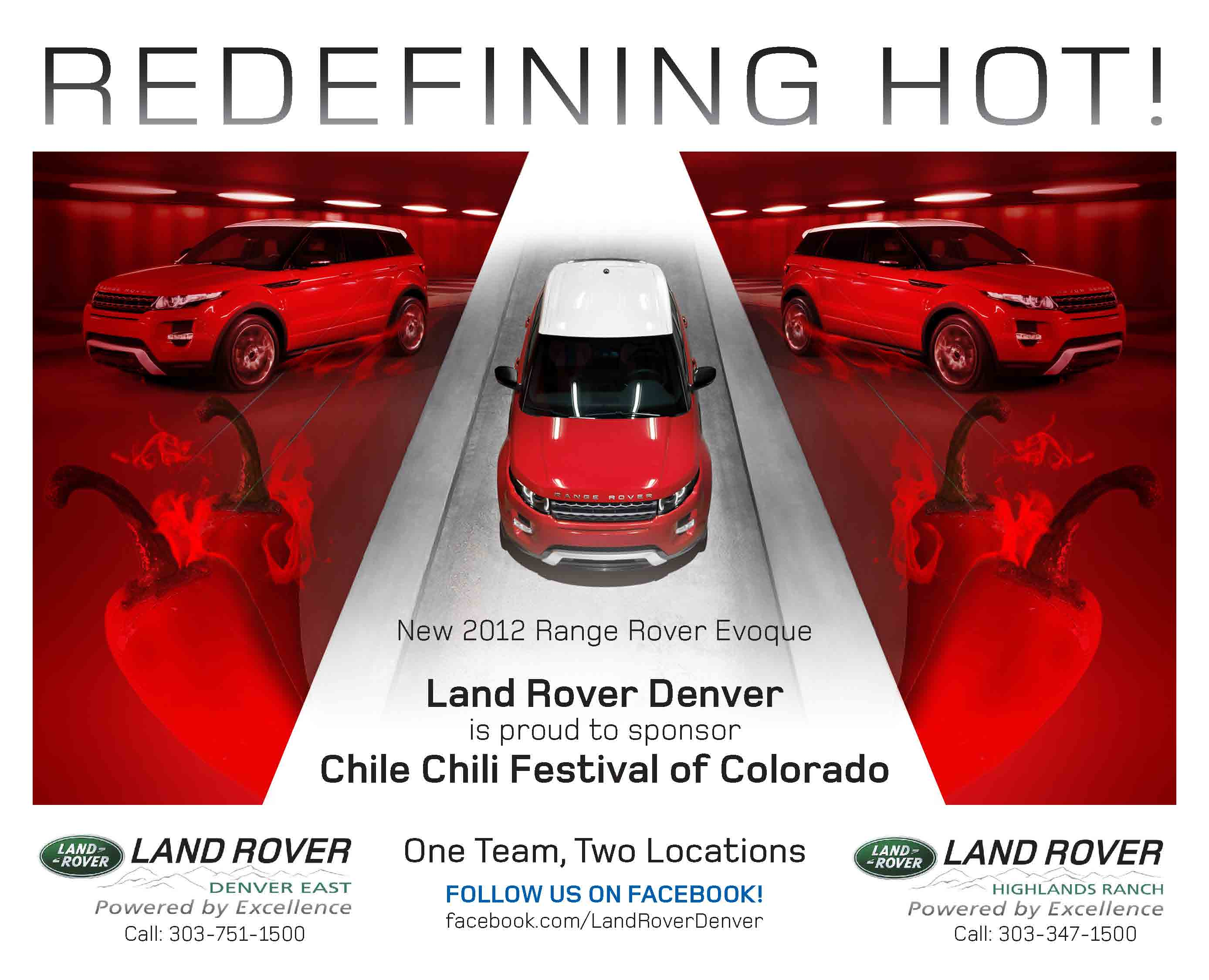 Rover at the Chile Chili Festival – Featuring the 2012 Range Rover