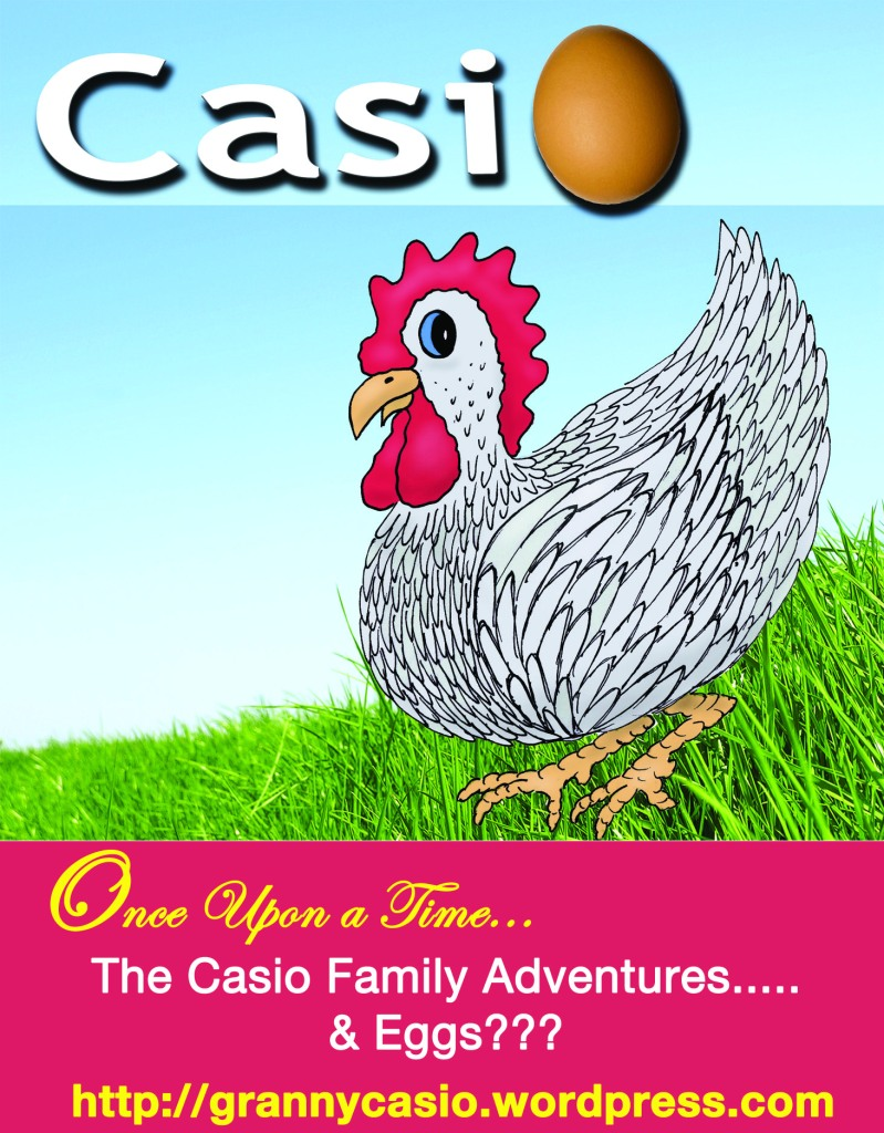 Granny Casio Eggs - Advertisement from That's Natural! Marketing
