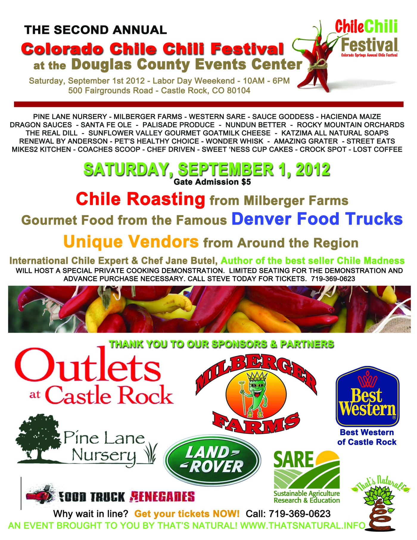 8 5x11 poster design - Chile Chili Fest 2012 Poster Design From That S Natural Marketing That S Natural
