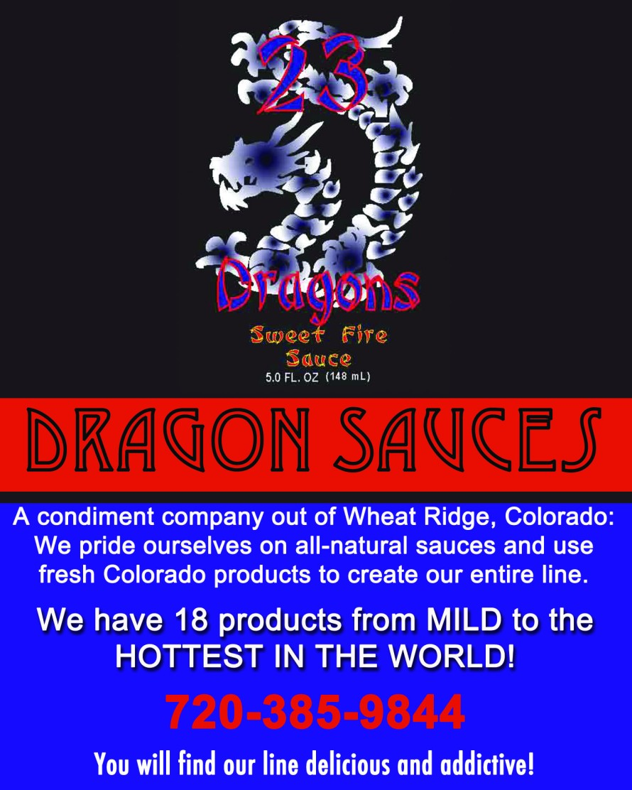 Dragon Sauces Advertisement - Chile Chili Fest 2012