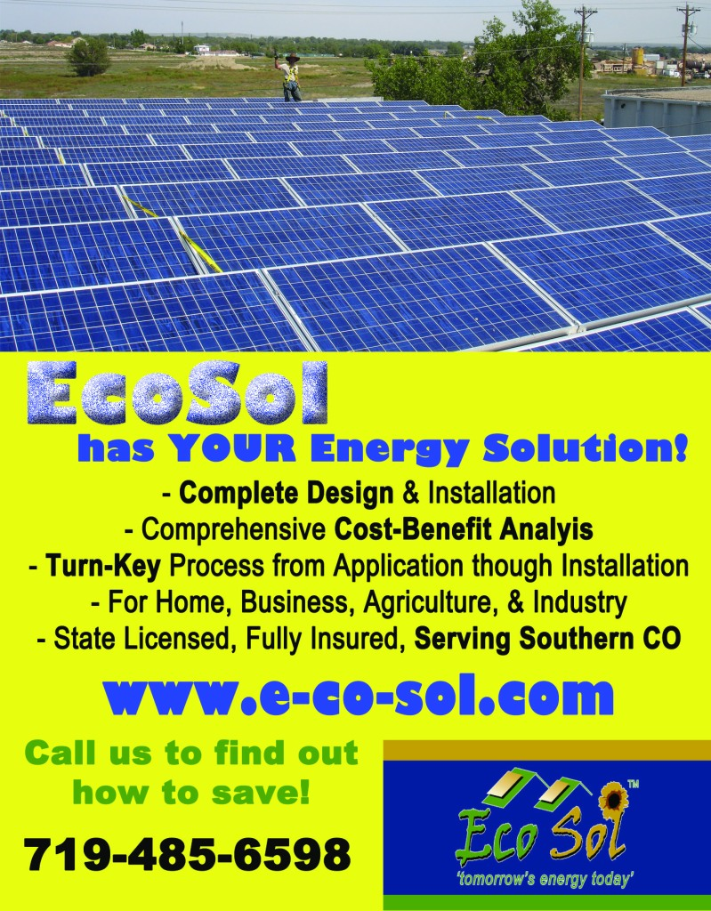 Eco-Sol - Graphics from That's Natural! Marketing