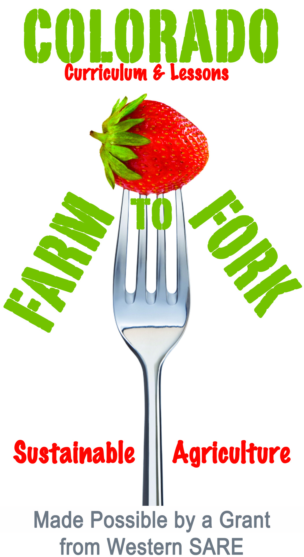 Farm To Fork - Graphics from That's Natural! Marketing