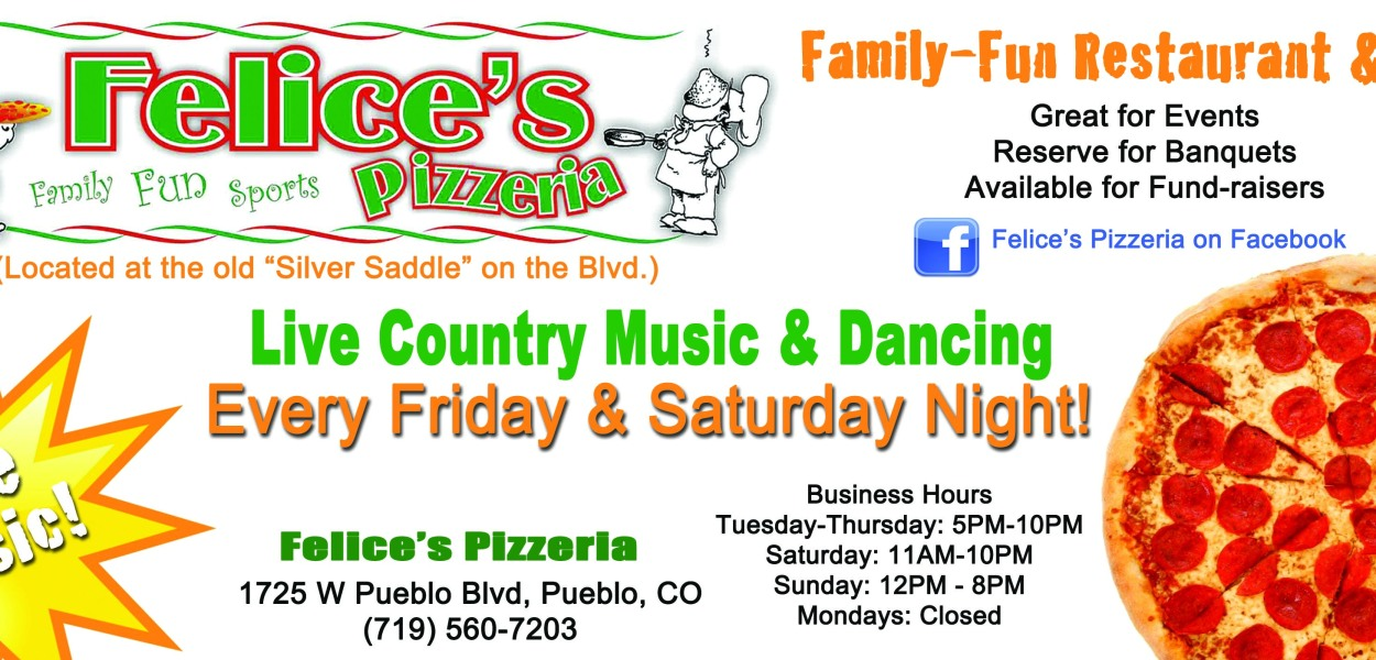 Felice's Pizzeria - Graphics from That's Natural!