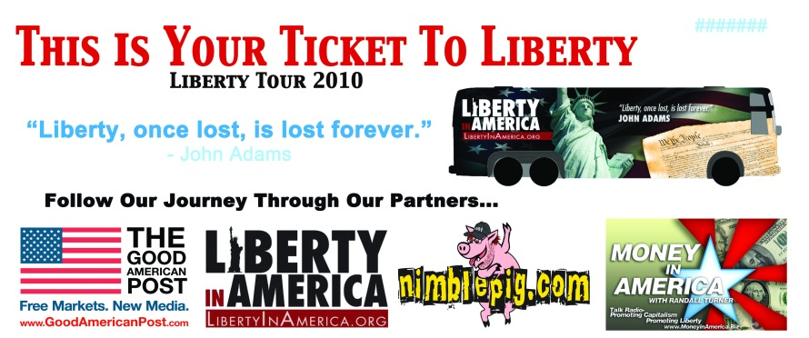 Liberty in America - Event Ticket from That's Natural! Marketing