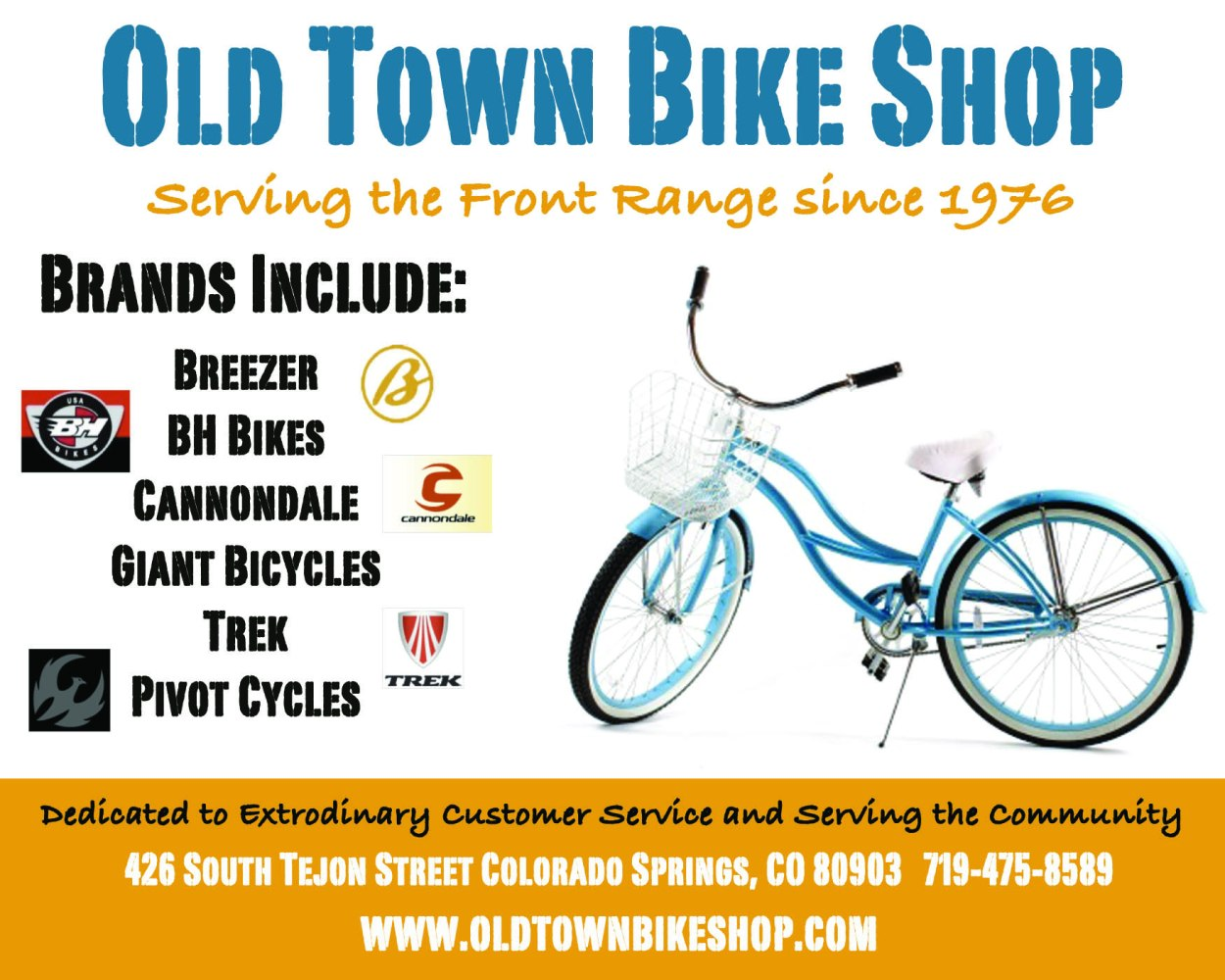 Old Town Bike Shop - Graphic Design from That's Natural! Marketing