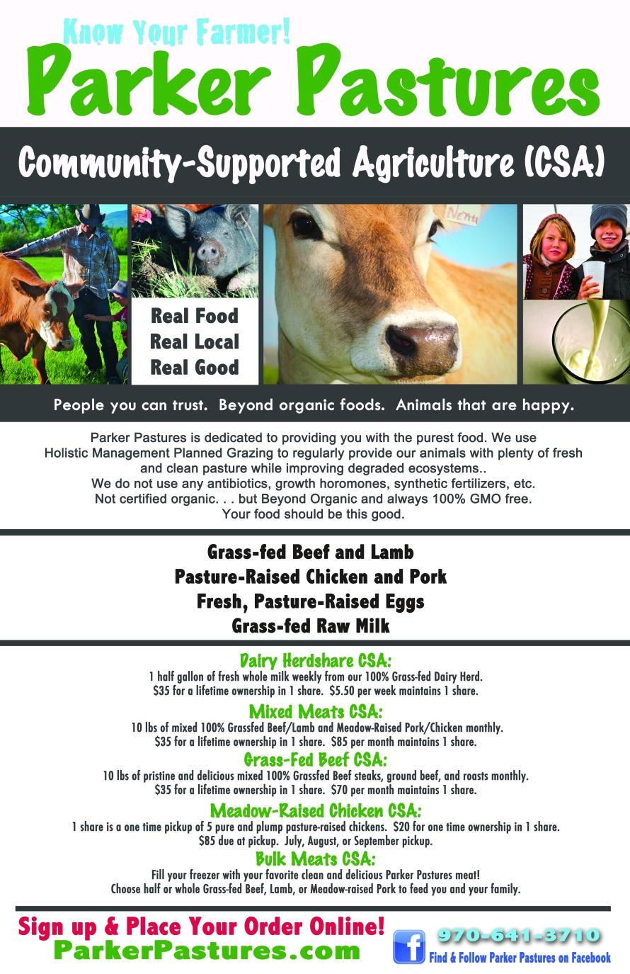 Parker Pastures Poster