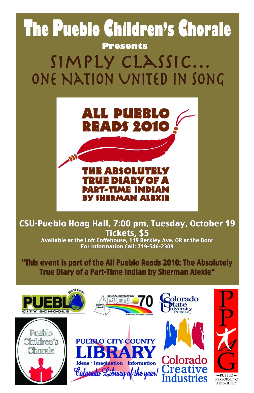 Pueblo Children's Chorale Poster - Graphics from That's Natural! Marketing
