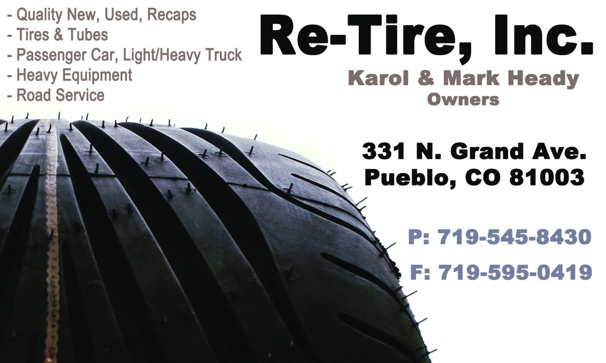 Re-Tire Advertisement