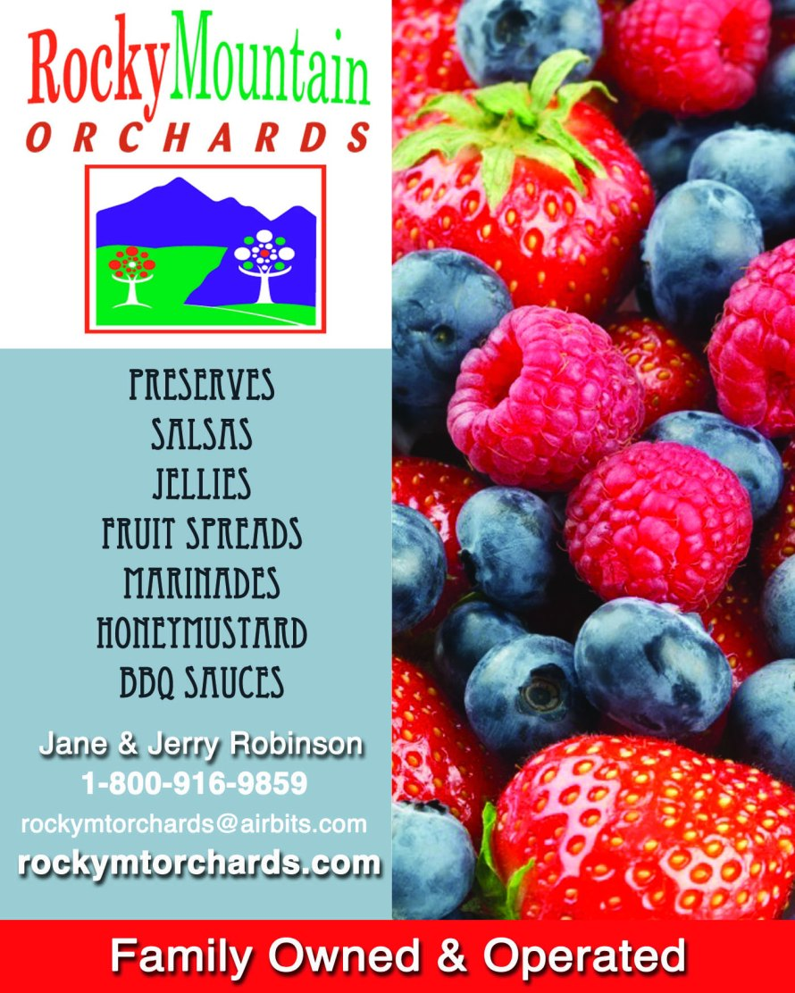 Rocky Mountain Orchards  Advertisement - CCF 2012