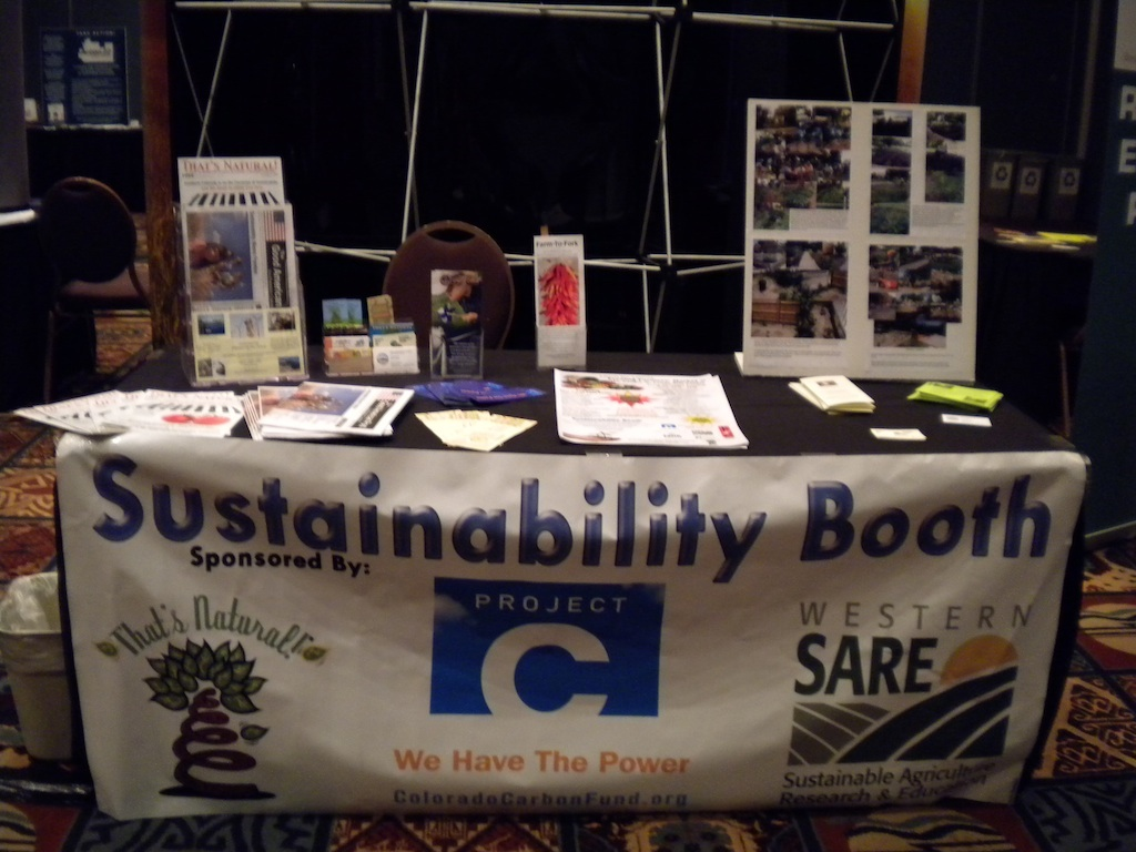 SCSC Conference 2009 - SARE_Sustainability Booth_2009_SCSC Conference