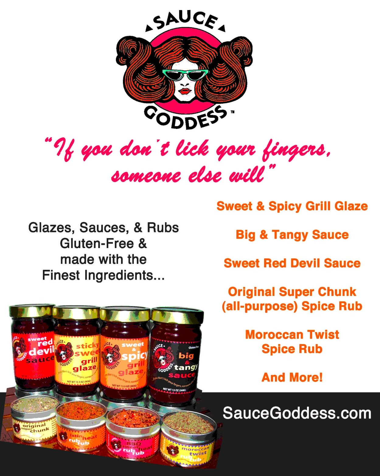 Sauce Goddess Advertisement - Chile Chili Festival 2012