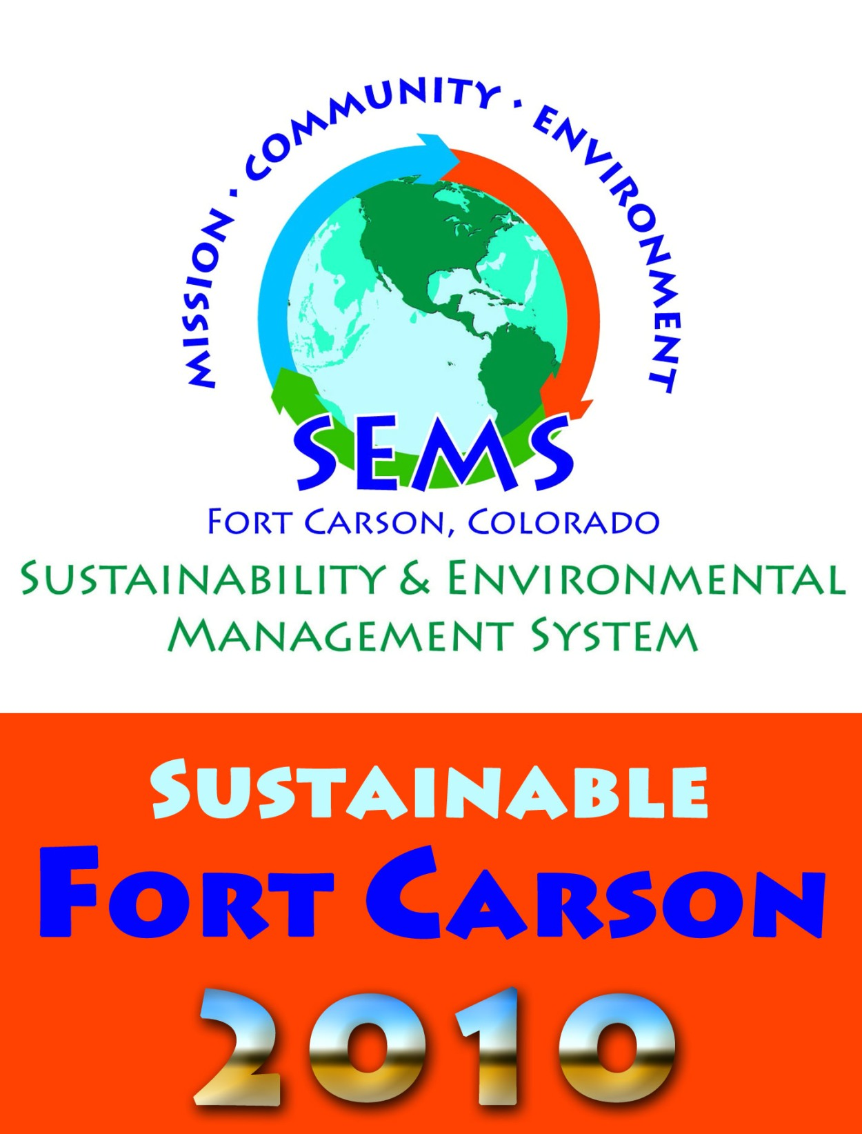 Sustainable Fort Carson Advertisement