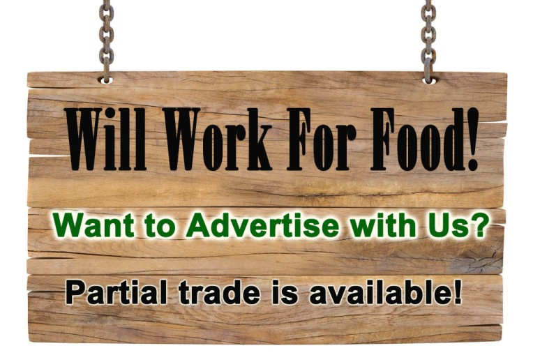 Will Work for Food! Summer 2014 Publication