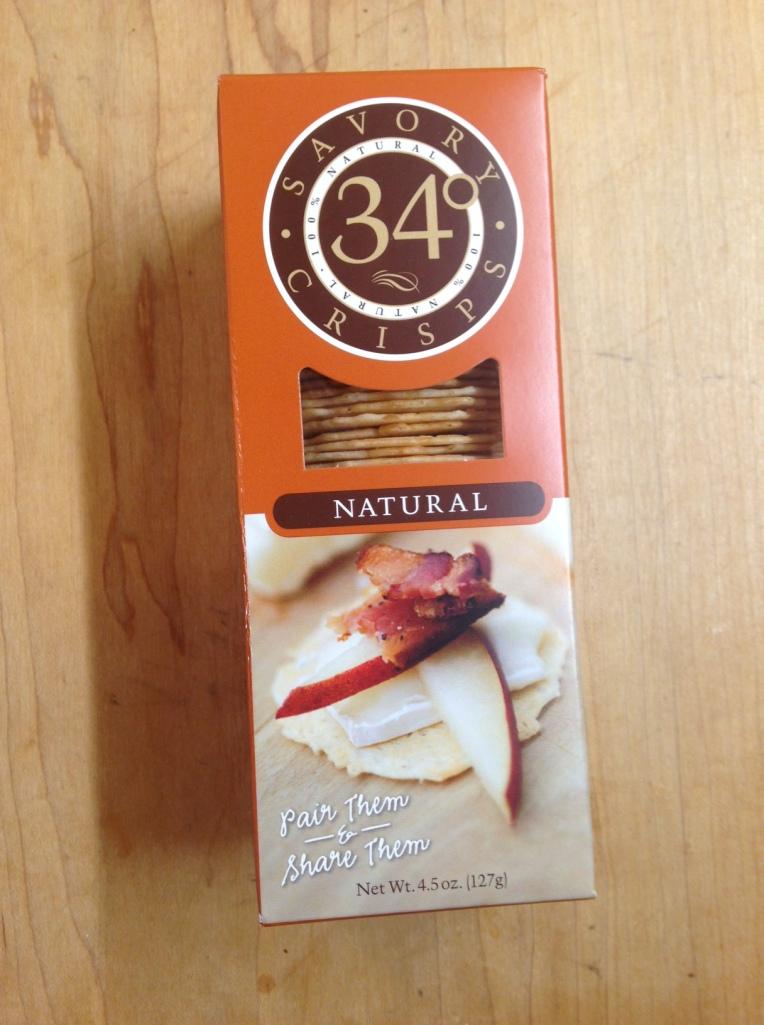TN Food Review - 34 Degree Savory Crisps - Natural