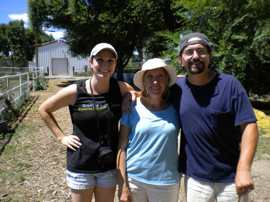 Wren's Nest Farm and Tisha