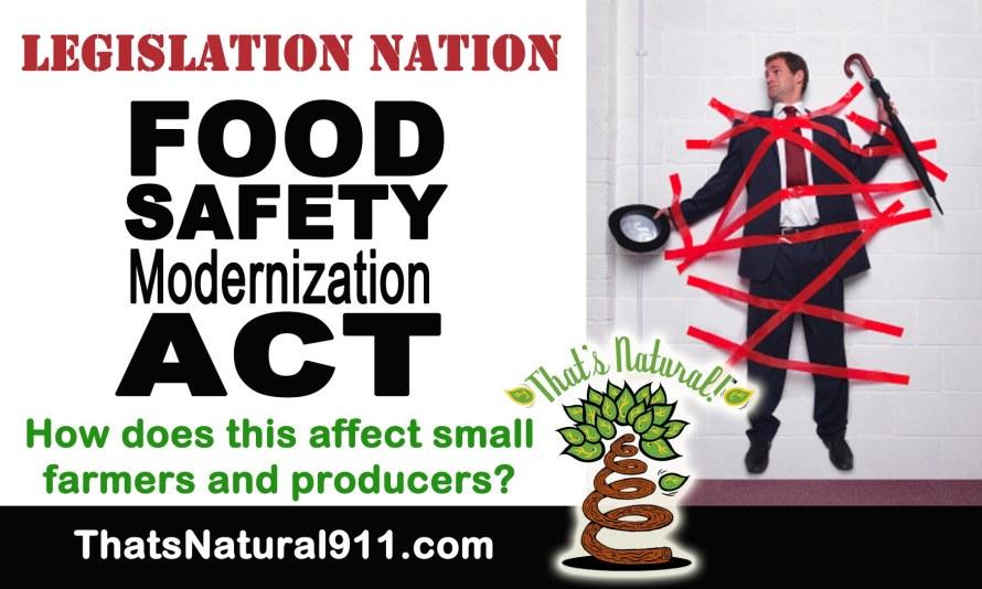 Legislation Nation - FSMA