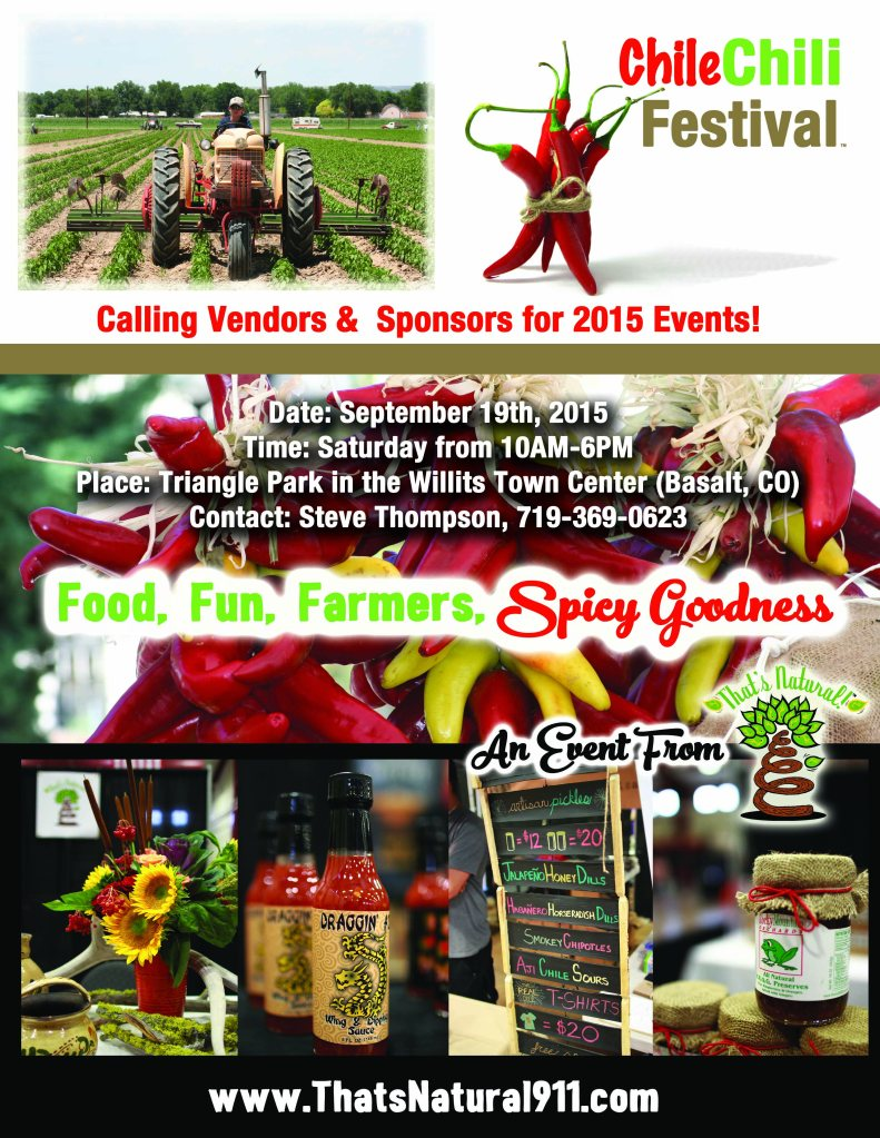 CCF 2015 - Calling Vendors Poster