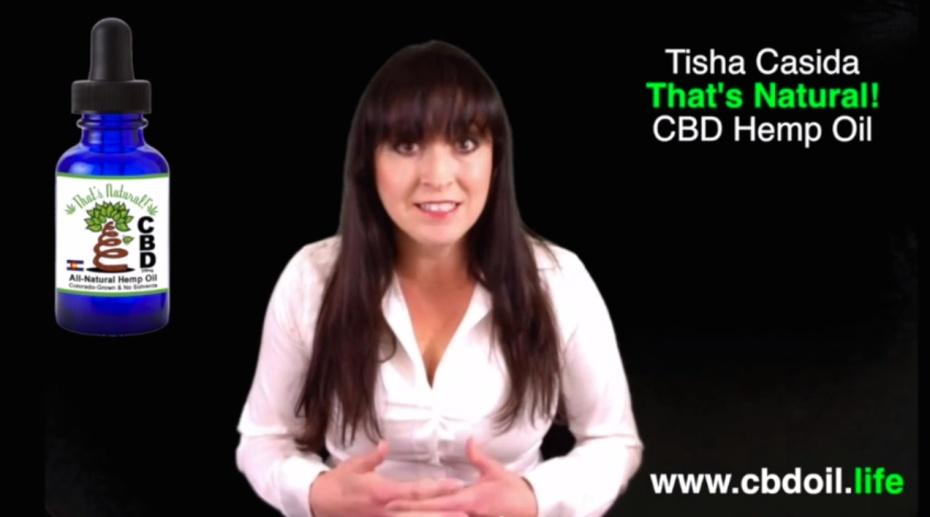 Tisha Casida Screen Shot for - Know Your CBD Hemp Oil_3.19.15