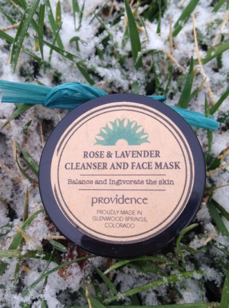Providence Rose and Lavender Face Mask