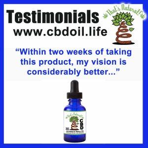 Testimonials for CBD Hemo Oil 3 (ST) - Instagram
