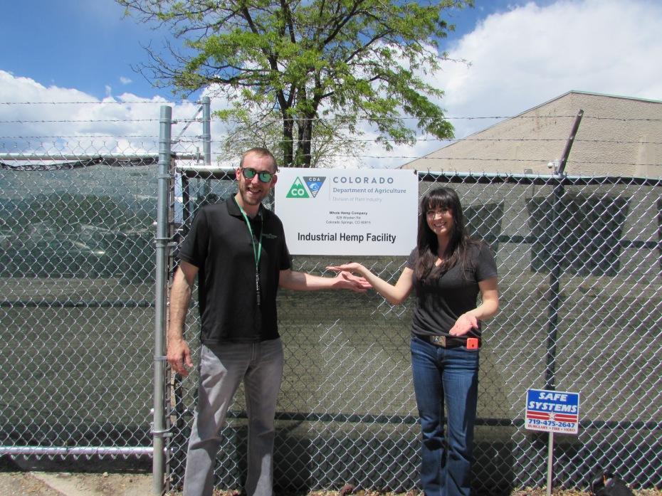 Tisha and Brandon at Whole Hemp Company