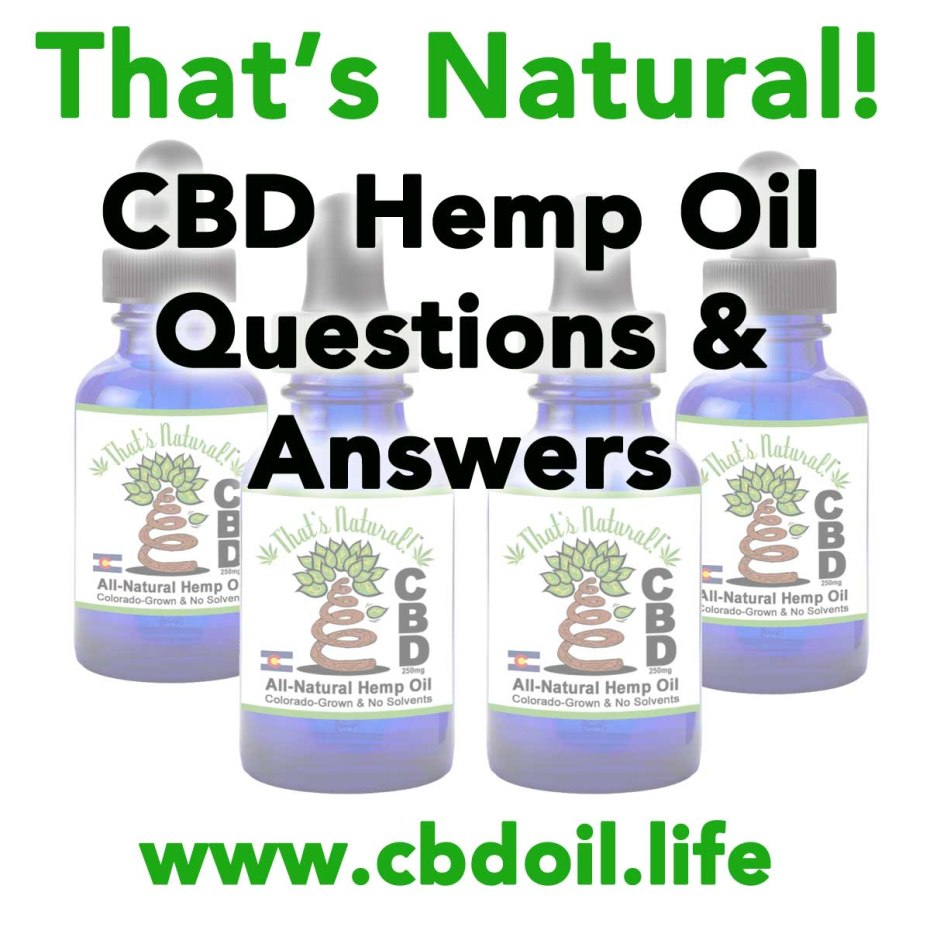 CBD Questions and Answers
