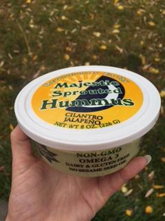Majestic Sprouted Hummus - Cilantro Jalapeño