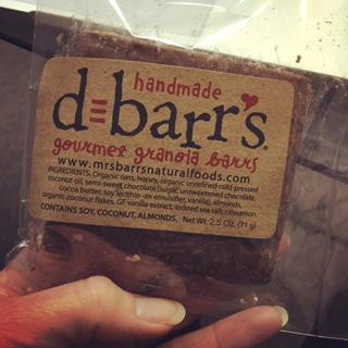 Mrs. Barr's Natural Granola Bar