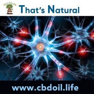 That's Natural CBD Oil - legal in all 50 States