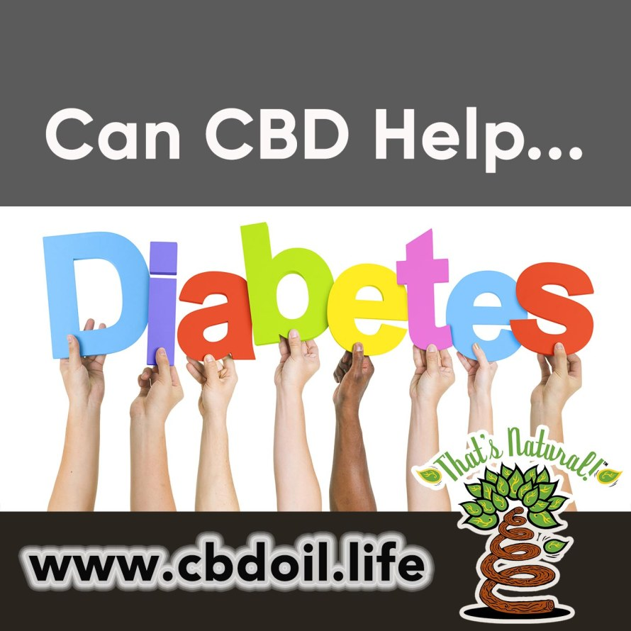 Can CBD Help Diabetes from That's Natural, V1