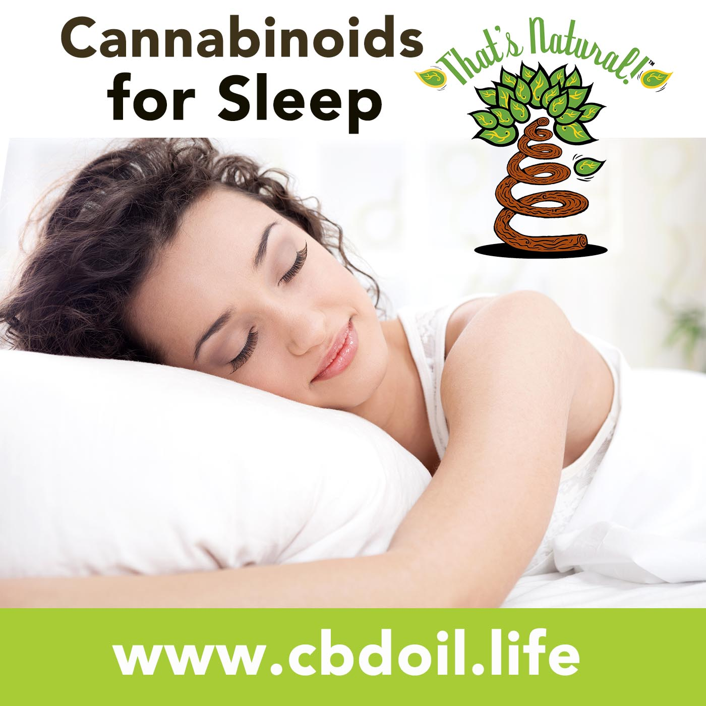 Cannabinoids for Sleep - Full Spectrum CBD-Rich Hemp Oil from That's Natural at www.cbdoil.life