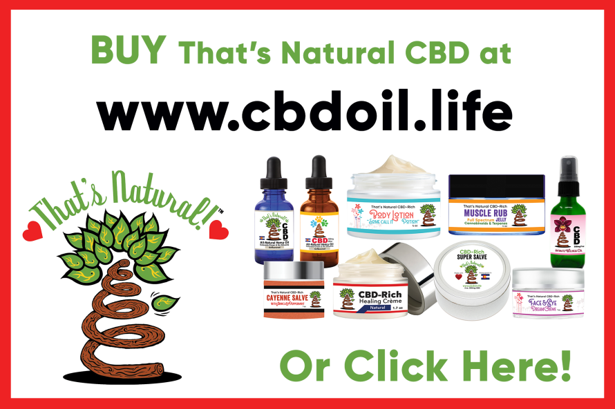 Purchase That's Natural CBD Hemp Oil at www.cbdoil